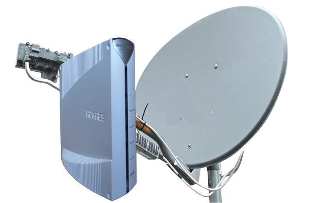 Оборудование для безлимитного спутникового интернета